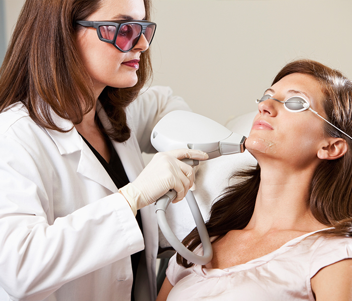 le led phototherapie dermatologique